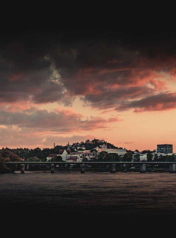 Passau am Abend