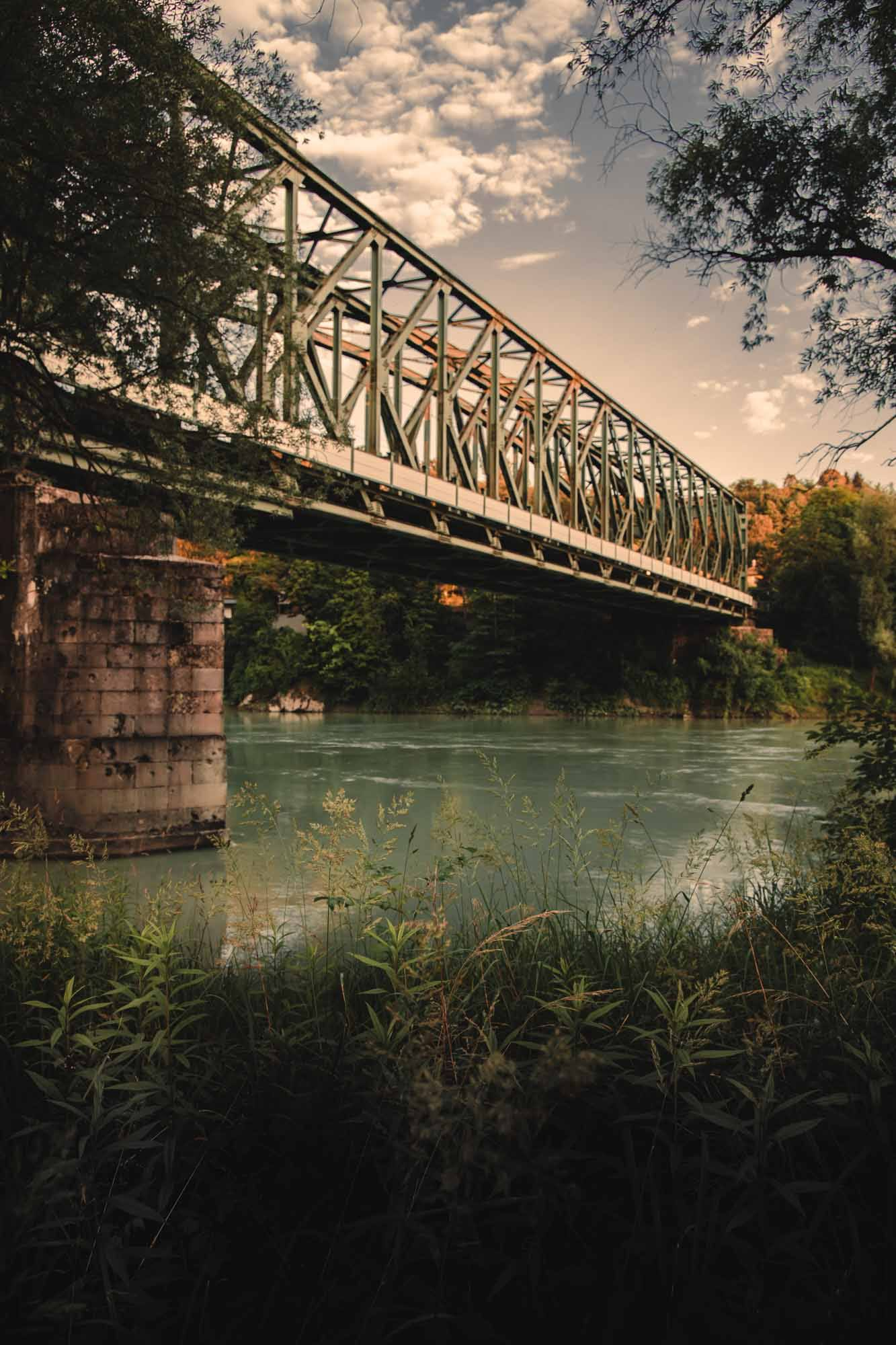 Eisenbahnbrücke Passau