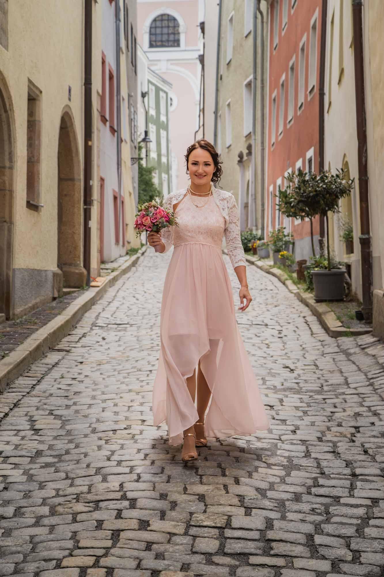 Braut in Passau