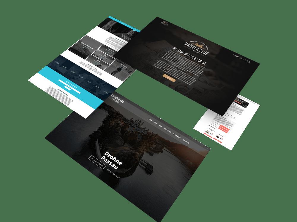 Webseite Portfolio