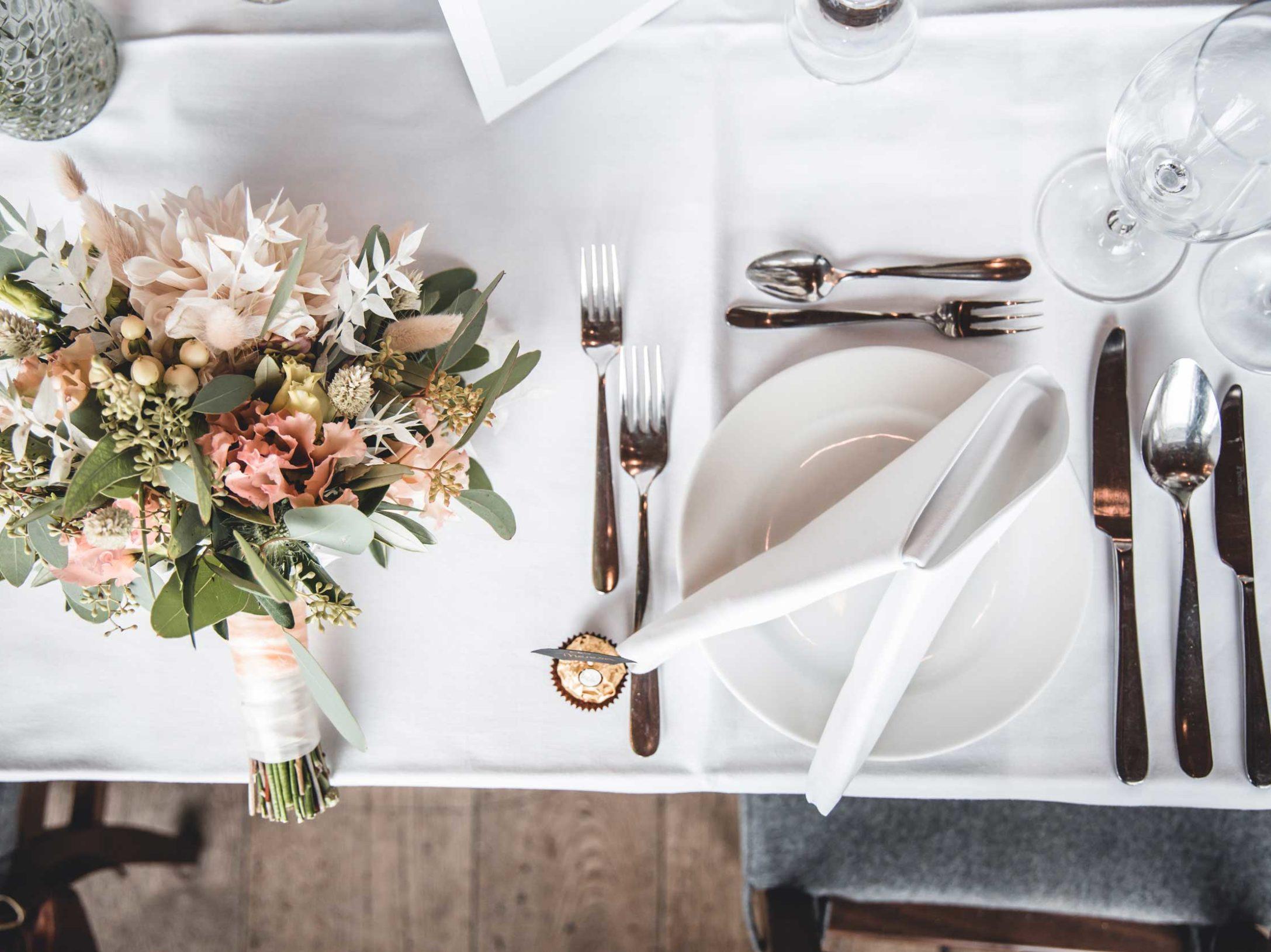 Hochzeitsdekoration Oberhaus