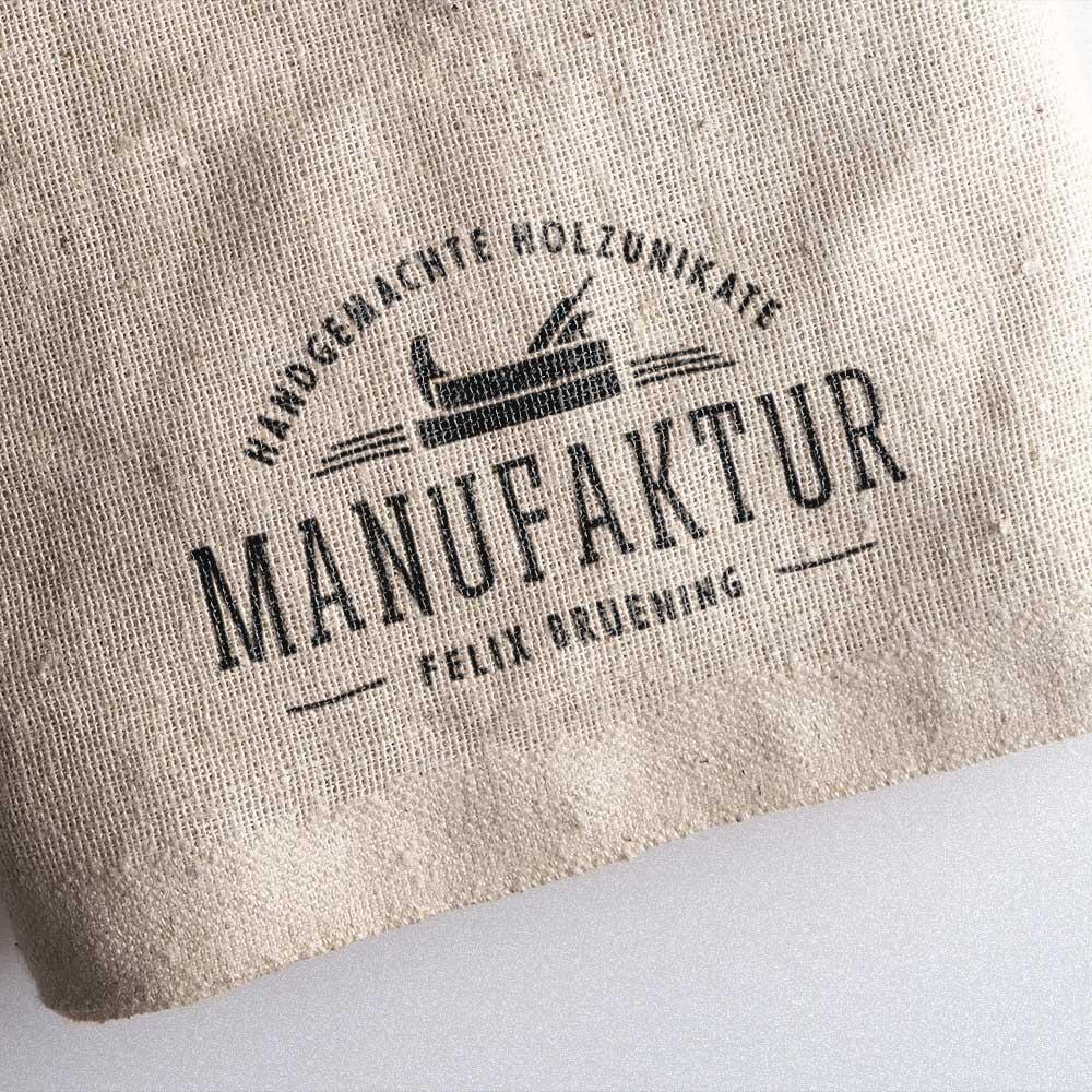 Logo auf Produkt